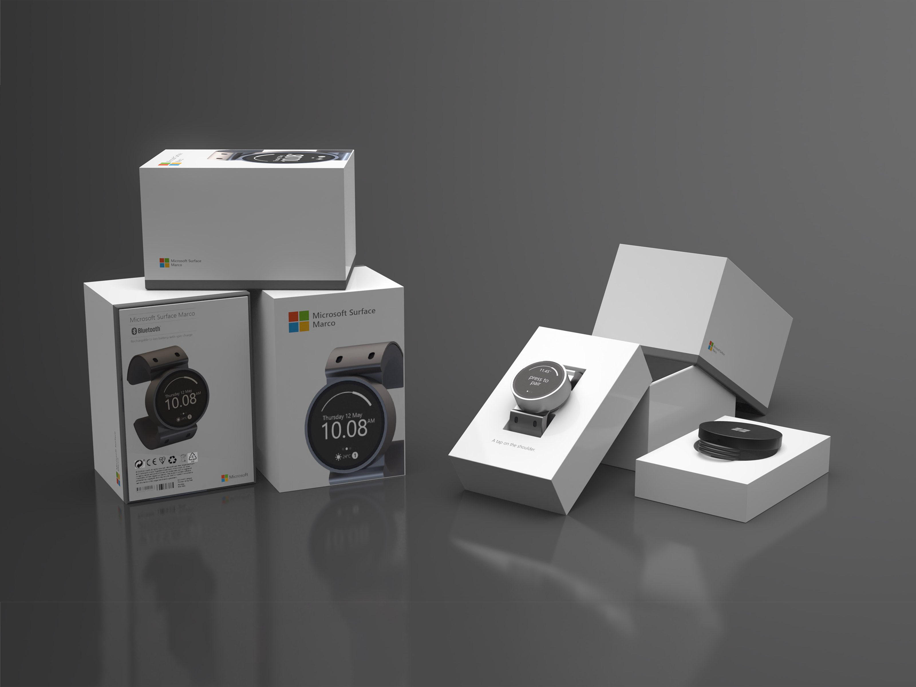 Final packaging renders