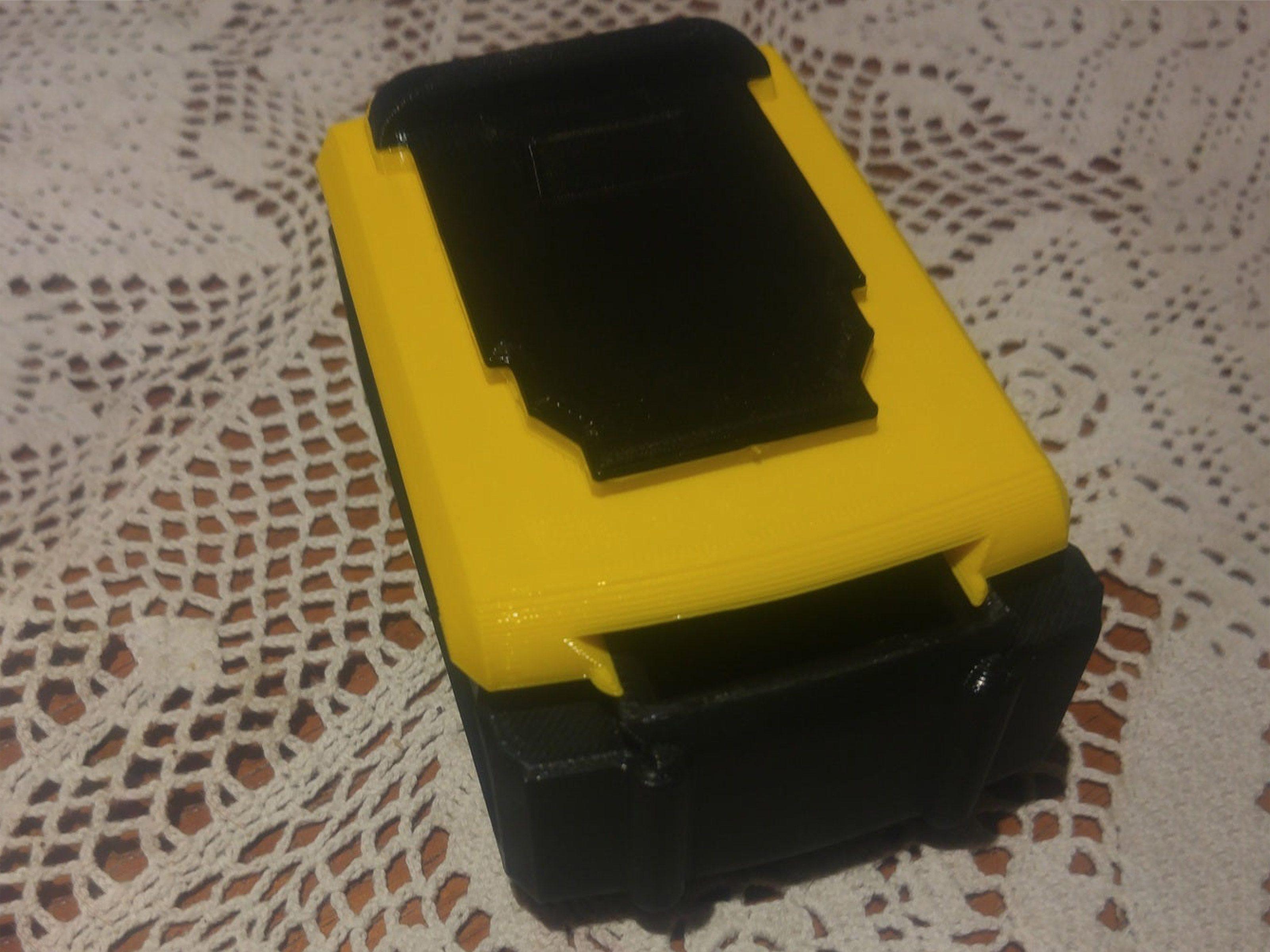 Drill Battery Bit Box