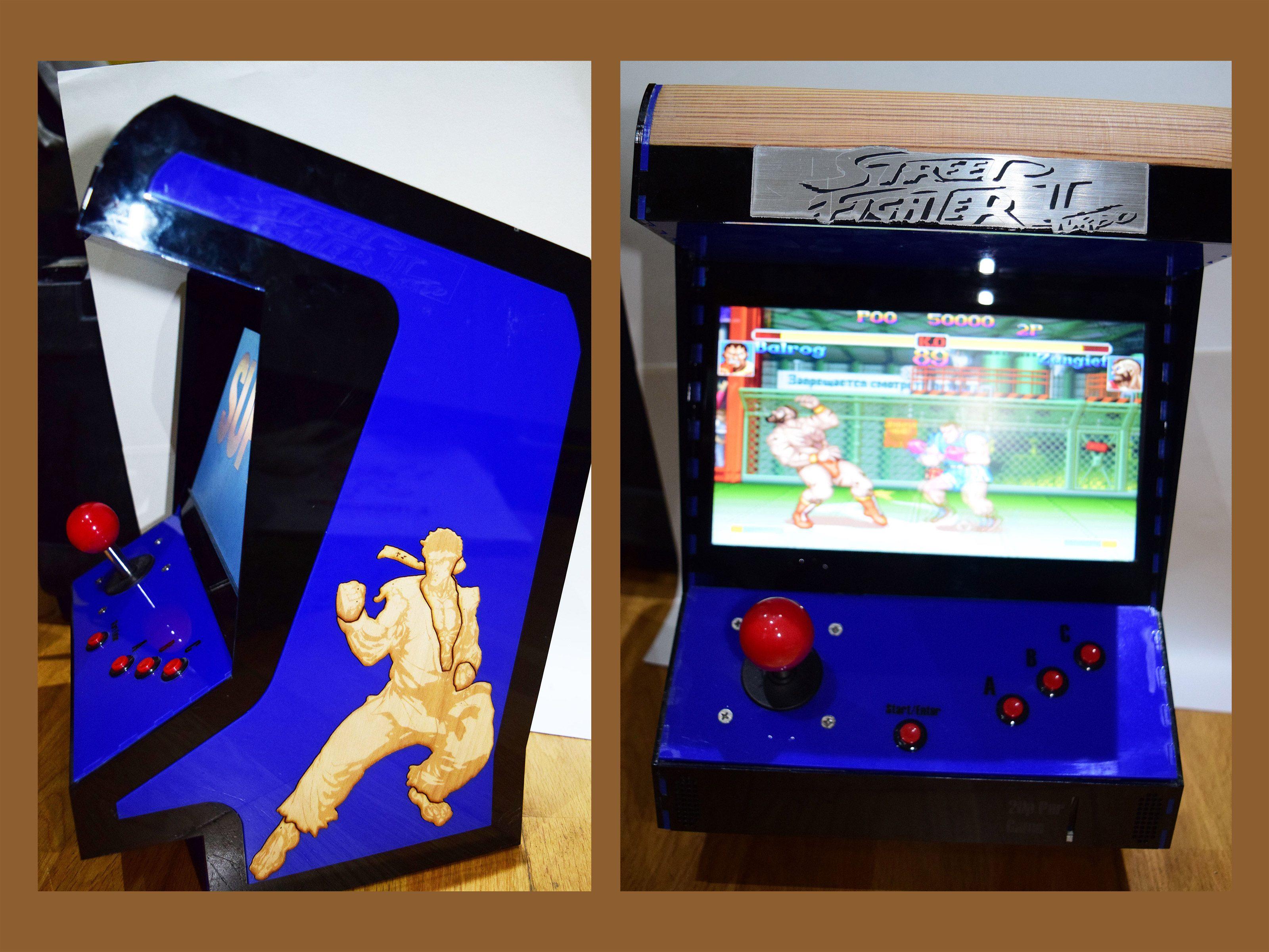 Mini Arcade Cabinet