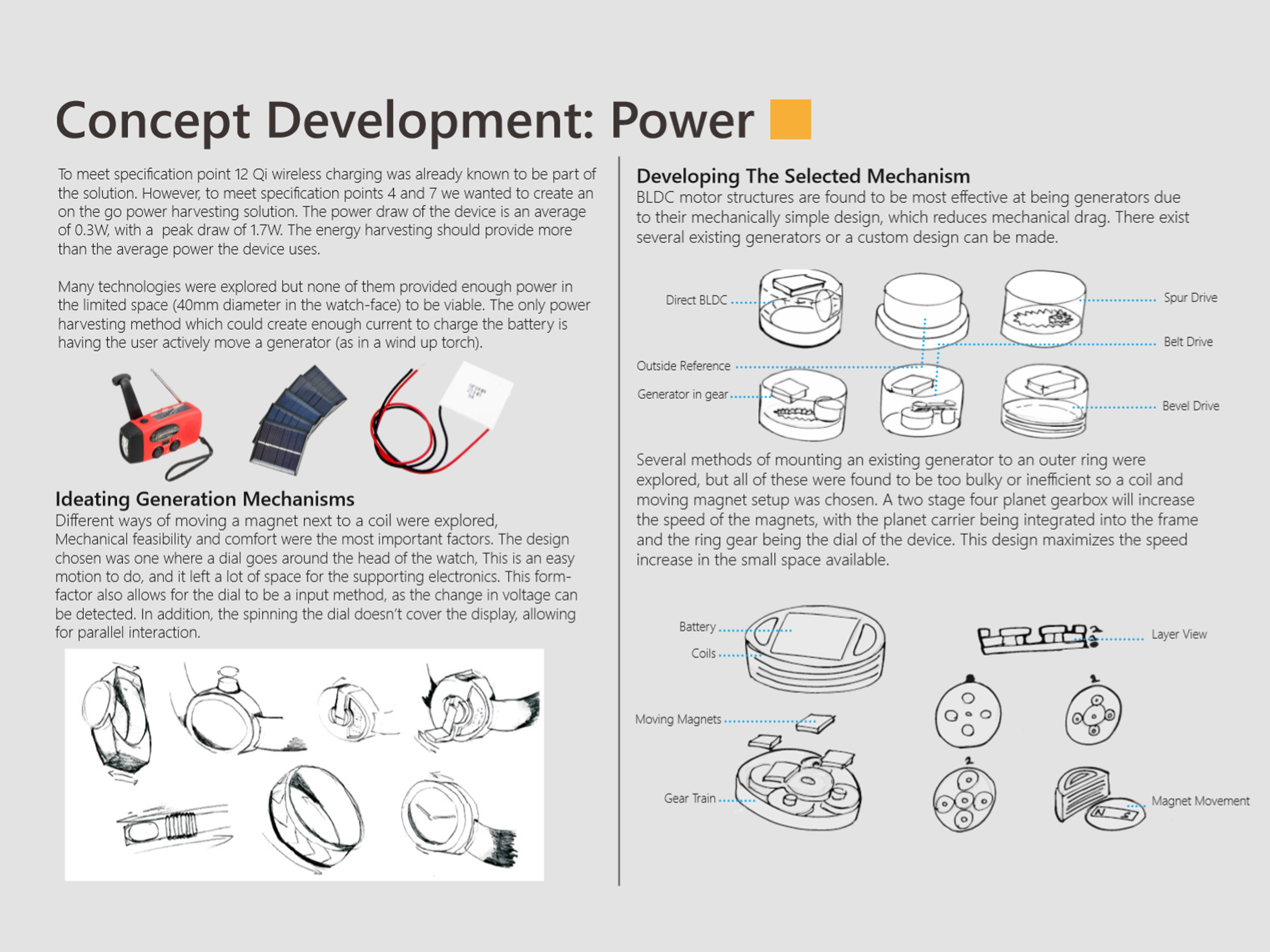 Power delivery research and calculations